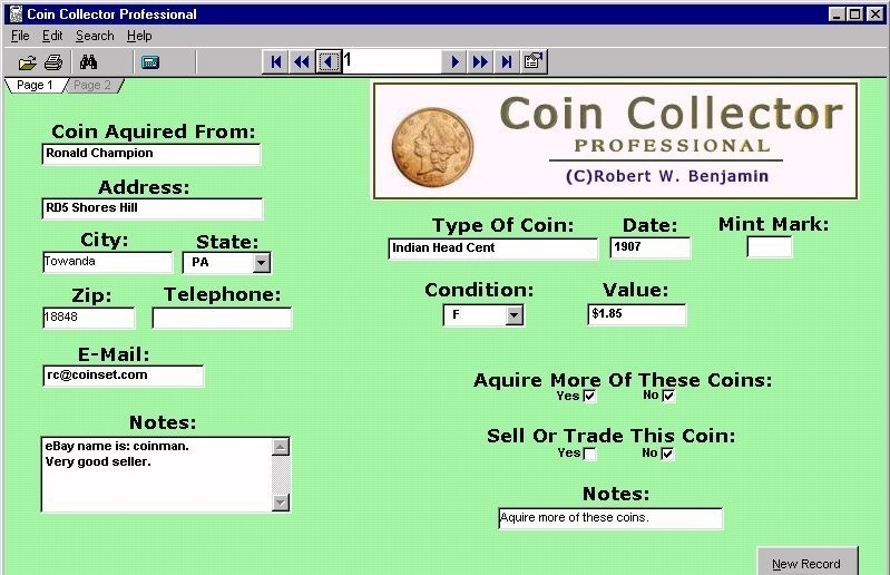 Coin Collector Professional