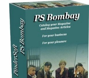 Magazine Organizer PS Bombay bd magazine
