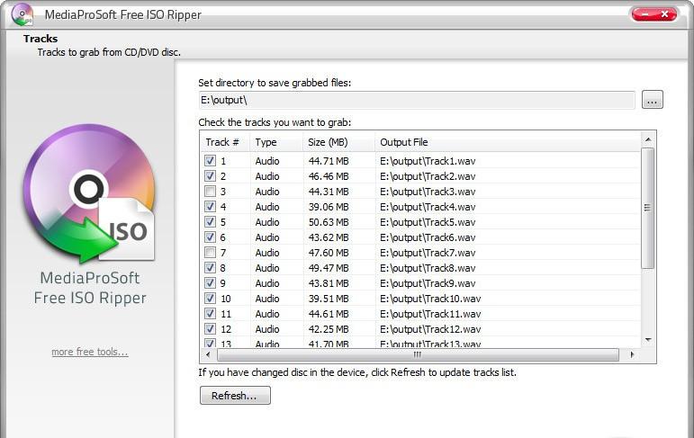 MediaProSoft Free ISO Ripper