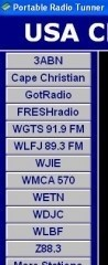 USA Christian Radio Stations christian bookmarks