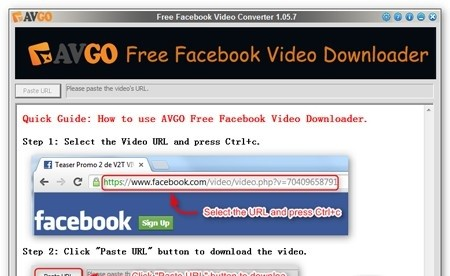 AVGO Free Facebook Downloader