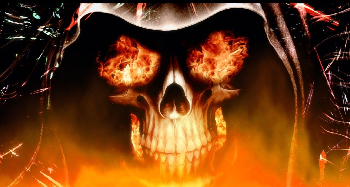 Fire Skull Animated Wallpaper 1.0