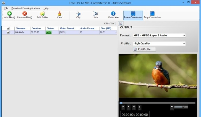 Free FLV To MP3 Converter 4dots beastialitiy videos free