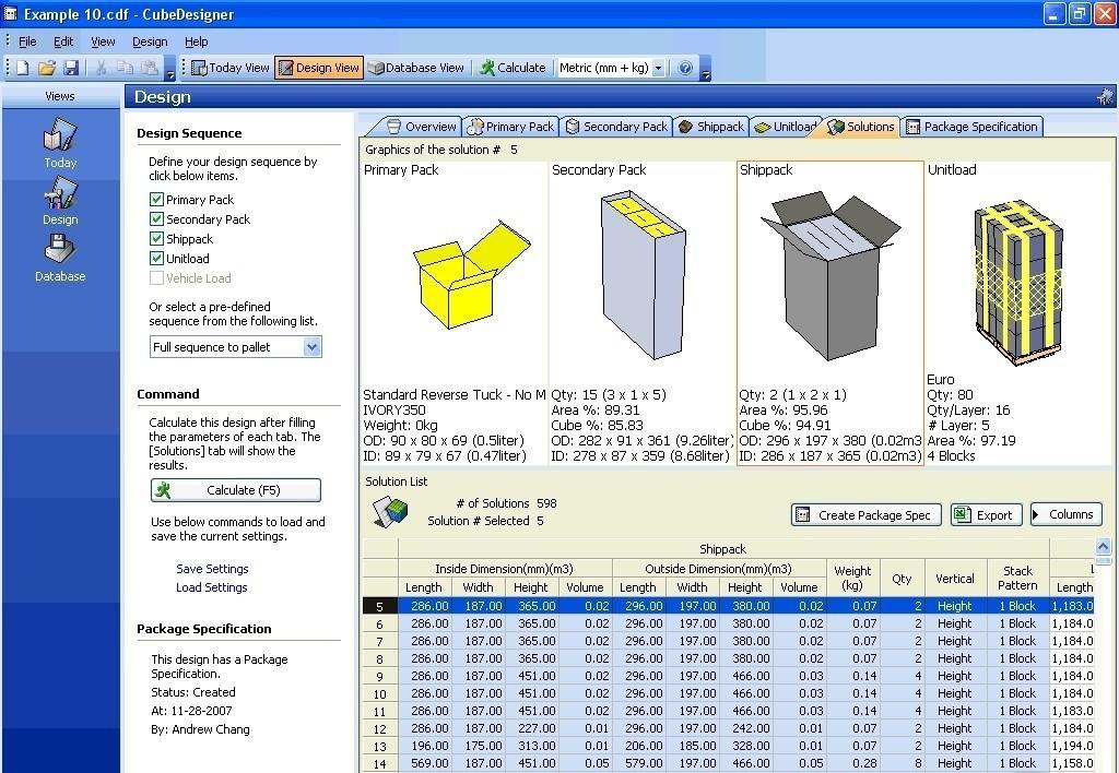 CubeDesigner Standard Edition arrangement