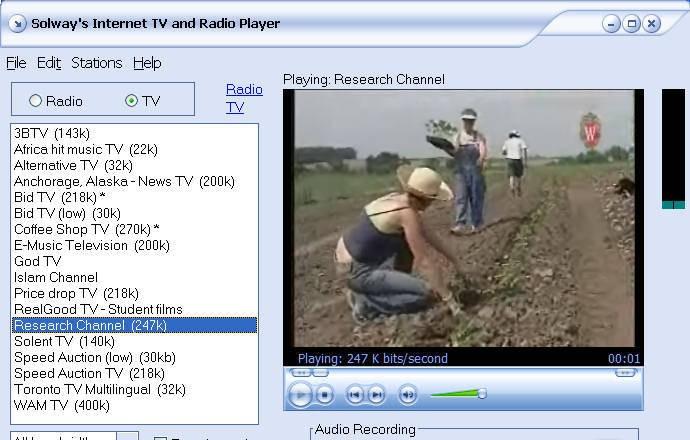 Solways Internet TV and Radio