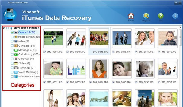 Vibosoft iTunes Data Recovery