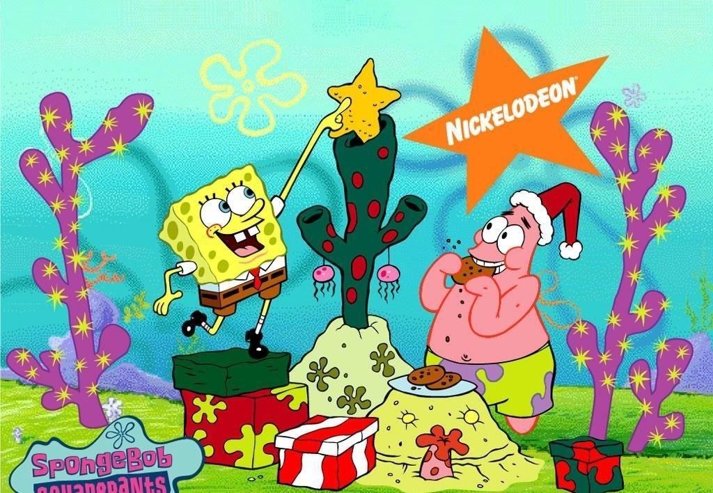Spongebob Christmas Wallpaper spongebob