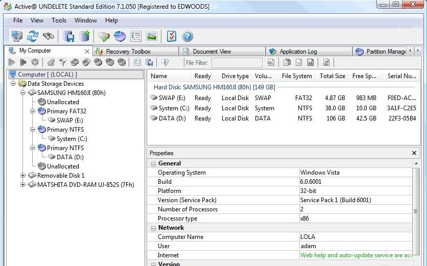 Скачать взлом програма на сотку формат jar. LSoft Active@ Undelete ver 9.0