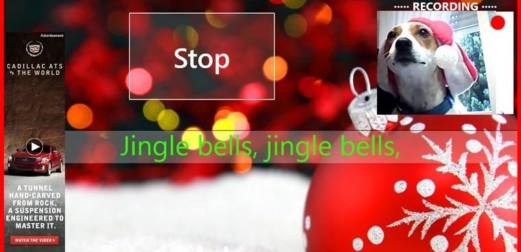 Christmas karaoke for Windows 8
