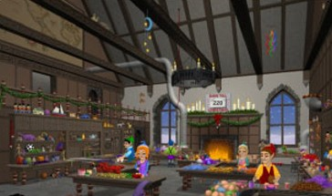 Santas Workshop 3D Screensaver