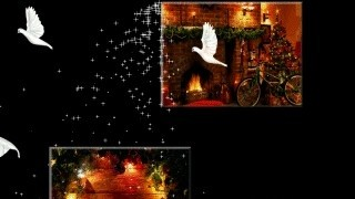 Christmas Moments Screen Saver - This animated screen saver features stunning (moving) Christmas images with b... animated smiley face