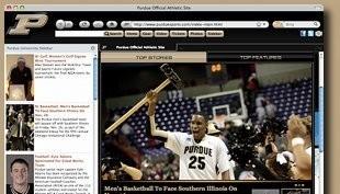 Purdue Internet Explorer Theme