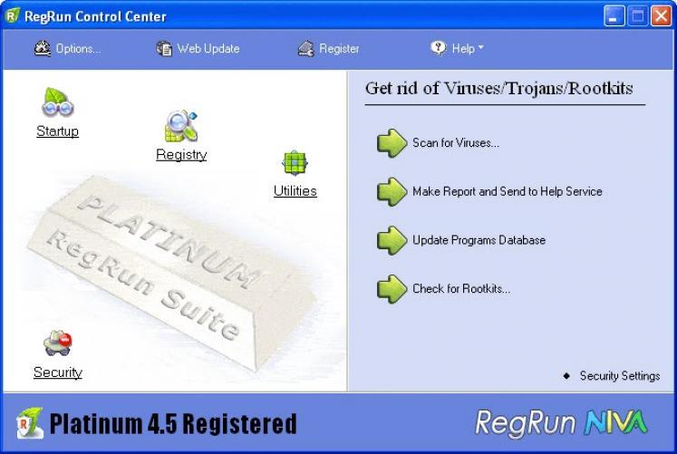 RegRun Security Suite Standard