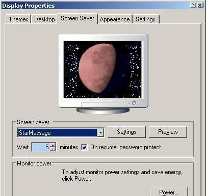 Moon Phase Calendar screensaver moon rise