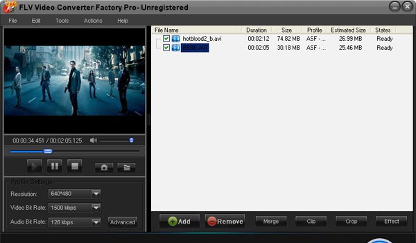 FLV Video Converter Factory Pro