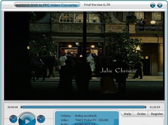Agogo DVD to PPC Video Converter - Agogo DVD PPC Video Converter is a intuitive to use program which convert your D