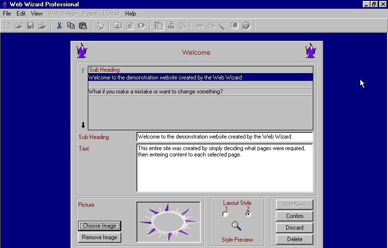 Web Wizard Professional Edition noiseware professional edition