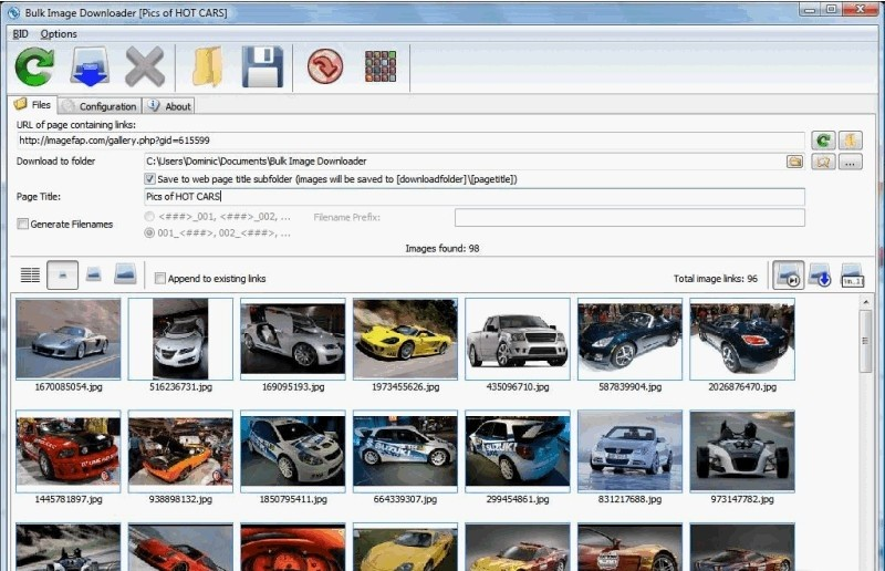 Bulk Image Downloader For Chrome imagefap browse galleries