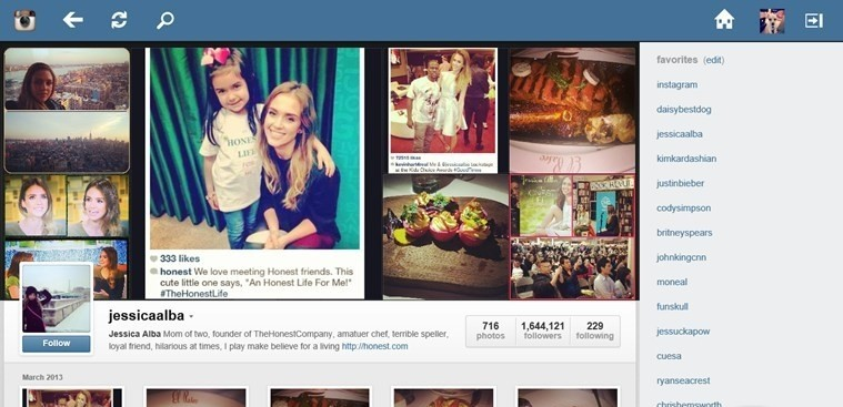 Instagram Explorer for Windows 8