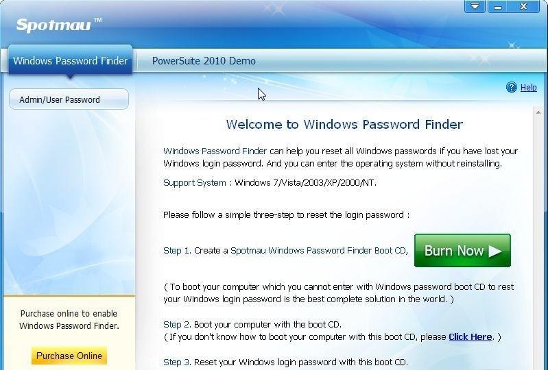 Spotmau Windows Password Finder alexroot4 imgsrc password