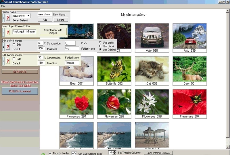 Smart Thumbnails Creator for WEB sexting picture galleries