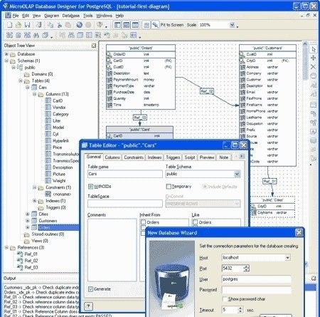 Скачать Database Designer for PostgreSQL 1.9.2. 240. Shareware.
