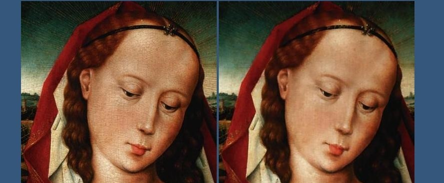 Image restoration and inpainting restoration