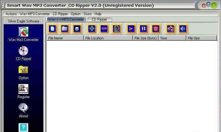 2.2.6. Скачать Smart Wav MP3 Converter & CD Ripper 2.2.6. Версия прогр