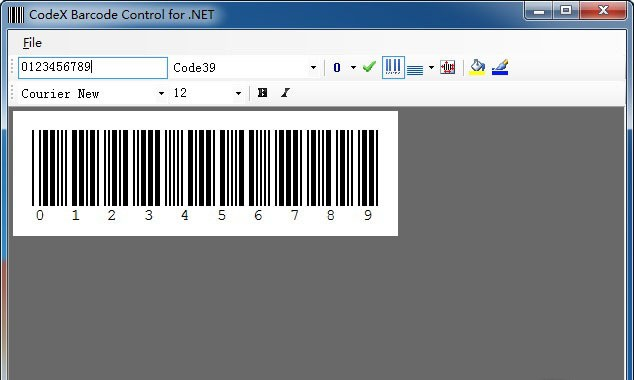 CodeX Barcode Control for ActiveX