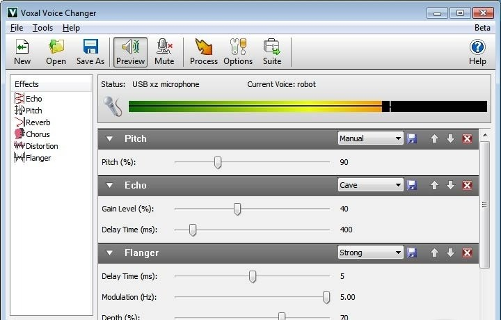 Voxal Free Voice Changer Software
