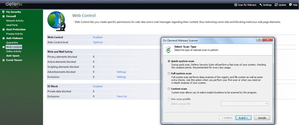 Defenx Internet Security Suite 2012