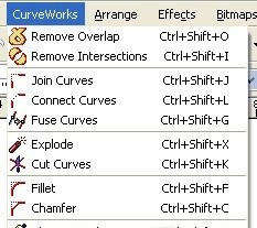 Oberon CurveWorks for CorelDRAW 12