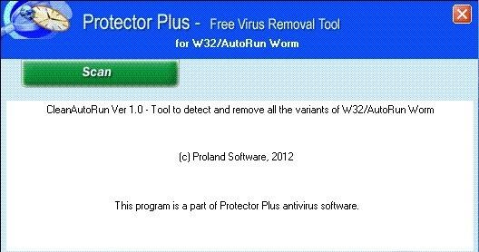 W32/CleanAutoRun Worm Removal Tool 1.0