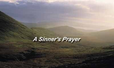 Free A Sinners Prayer Screensaver christian bookmarks