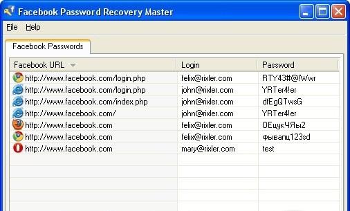 spyware facebook password iphone