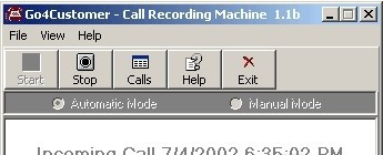 Go4Customer Call Recording Machine cyberlink webcam 4