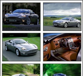 Aston Martin Vanquish Screensaver Aston Martin Vanquish Screensaver Размер: