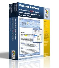 ProLingo English German Dictionary - English to German
