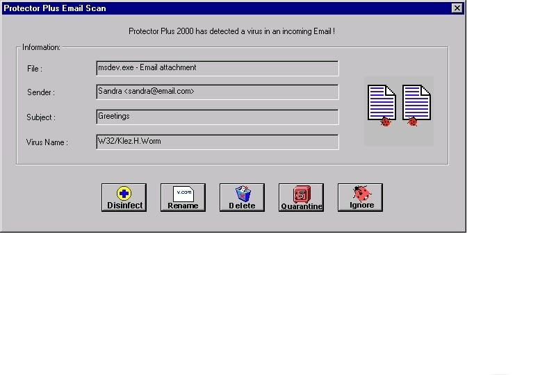 Protector Plus 2000 for Windows 95/98/Me