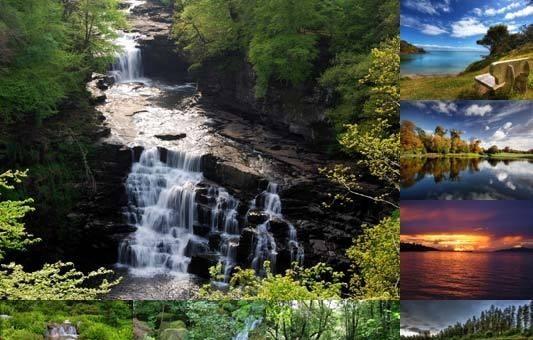 ... living waterfalls 3 free 3d screensaver animated waterfall screen