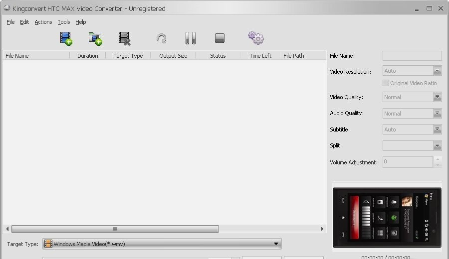 KingConvert HTC MAX Video Converter - Kingconvert DVD To HTC MAX Converter is an easy-to-use DVD To HTC MAX Converter.
