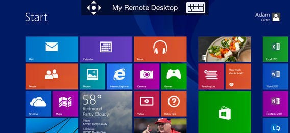 Microsoft Remote Desktop for iPhone