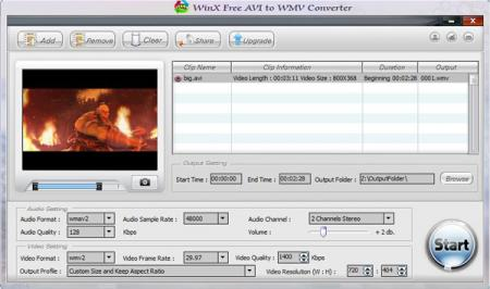 WinX Free AVI to WMV Video Converter - Free AVI to WMV video converter that converts videos from AVI to WMV format free gay tube video