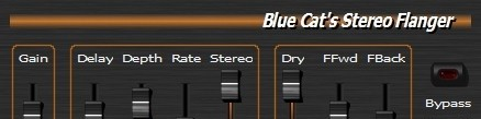 Blue Cats Stereo Flanger for DirectX