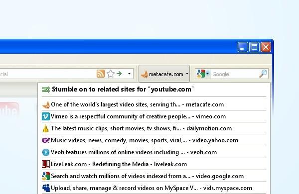 Similar Stumble - One Click Discovery redtube