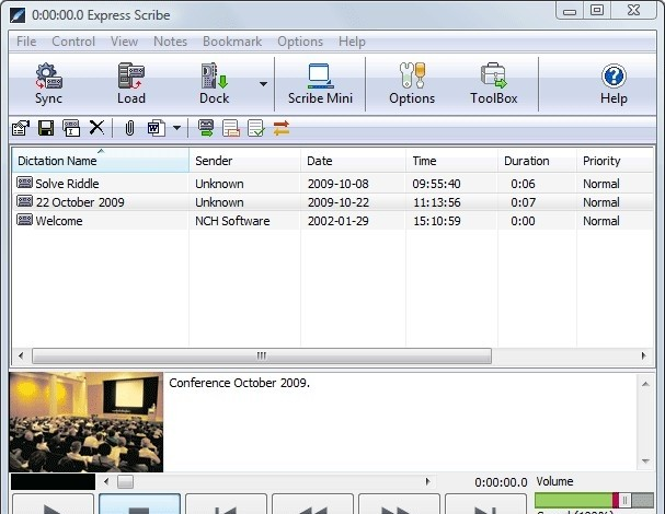 Express Scribe Transcription Player