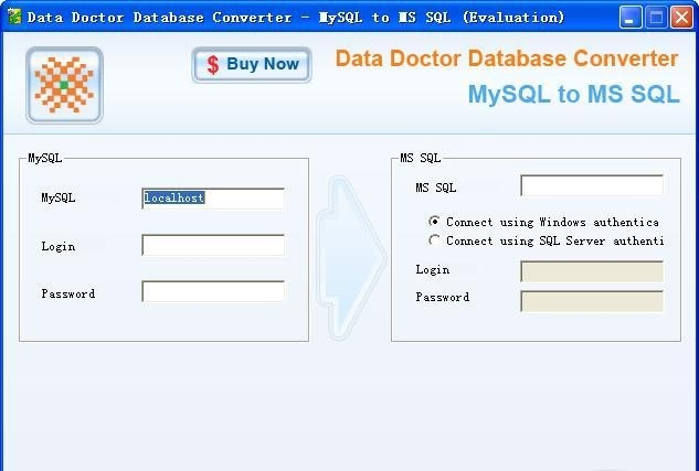 Data Doctor MySQL to MSSQL Converter