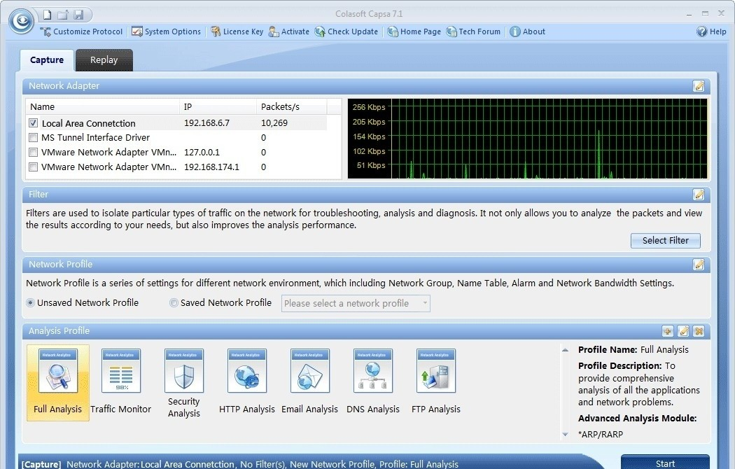 Download free IP Sniffer & Web Tracer - coolffil