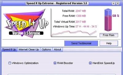 SpeedItUp Extreme - Free Speed Booster