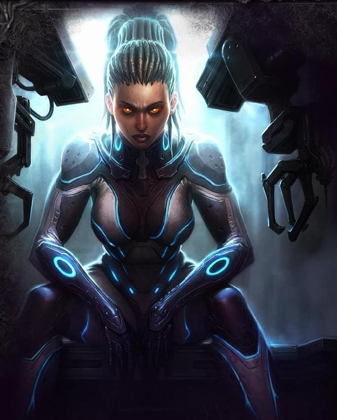 Sarah Kerrigan StarCraft 2 Screensaver sarah brightman nude fake